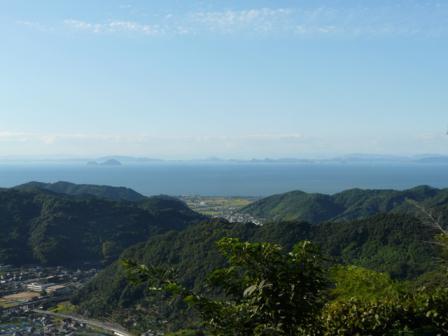 伊予市平岡からの眺め 2