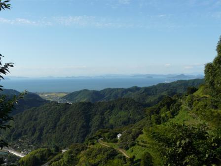 伊予市平岡からの眺め 3