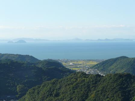 伊予市平岡からの眺め 4
