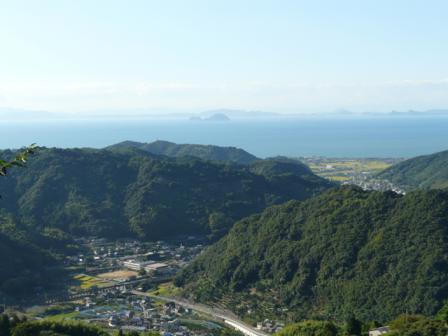 伊予市平岡からの眺め 5