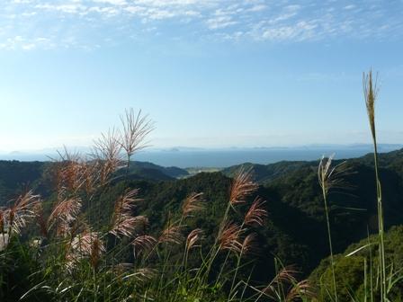 伊予市平岡からの眺め 7