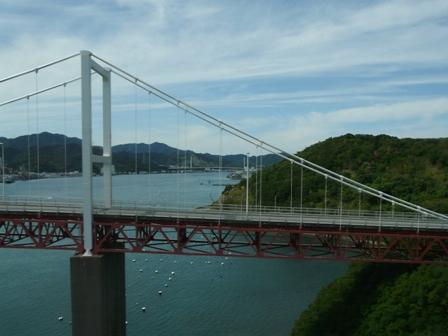 松山-神戸間・高速バス 車窓風景 4