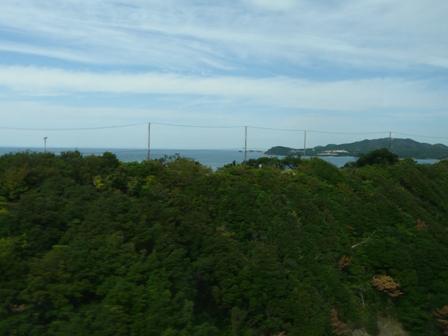 松山-神戸間・高速バス 車窓風景 6