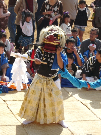 菊間祭り 獅子舞 5