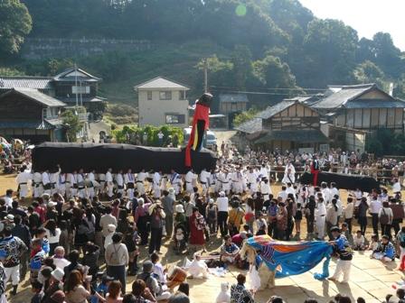 菊間祭り 牛鬼 3