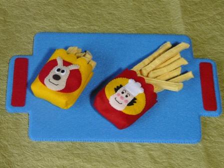 アンパンマンとハンバーガーキッドのハンバーガーセット 5
