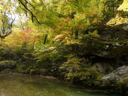 小田深山渓谷 紅葉 9