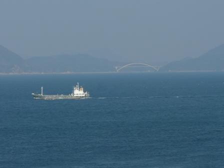 大角海浜公園からの景色 大三島橋