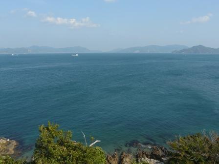 大角海浜公園からの景色
