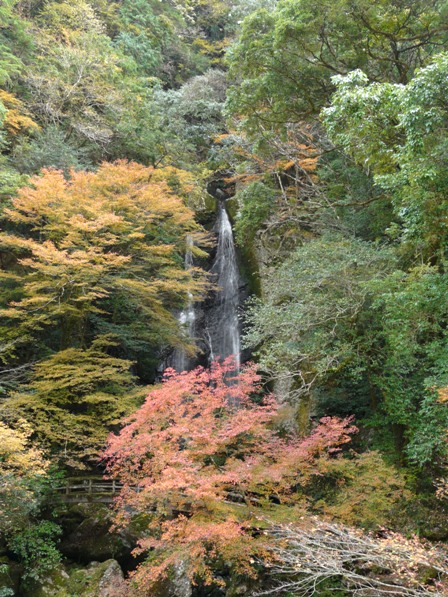 長沢の滝 紅葉 2