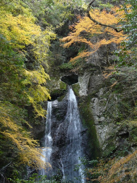 長沢の滝 紅葉 3
