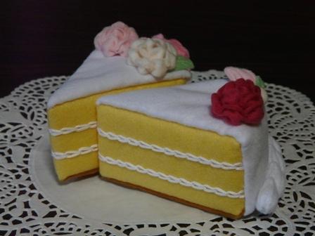 フェルト ウェディングケーキ 3