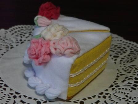 フェルト ウェディングケーキ 4