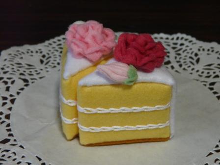 フェルト ウェディングケーキ 6