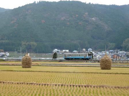 わらぐろ と 列車 (キハ54形) 1