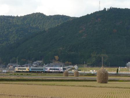 わらぐろ と 列車 (2000系特急・アンパンマン列車) 1