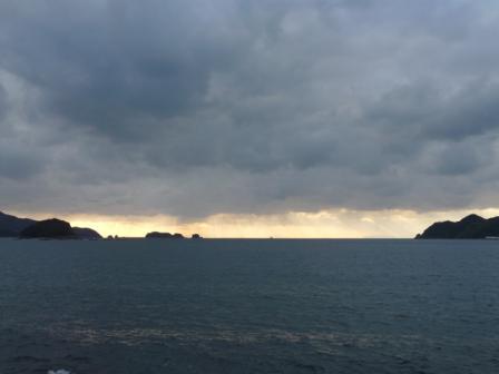 西予市から見た宇和海 2