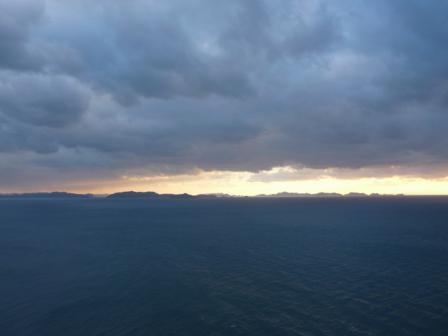 西予市から見た宇和海 4