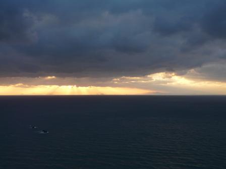 西予市から見た宇和海 5