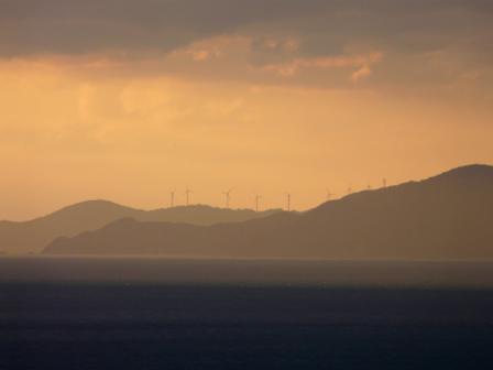 西予市から見た宇和海 6