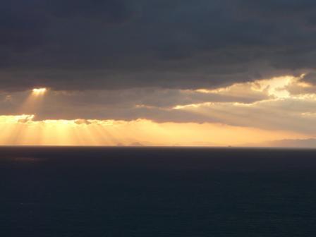西予市から見た宇和海 7