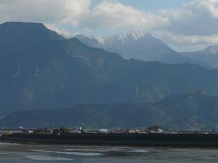 西条から 山の眺め 3