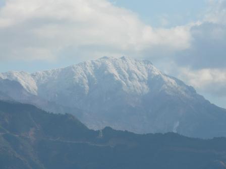 西条から 山の眺め 4