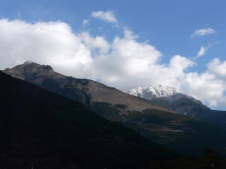雪の山 7