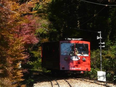 筑波山ケーブルカーから 3
