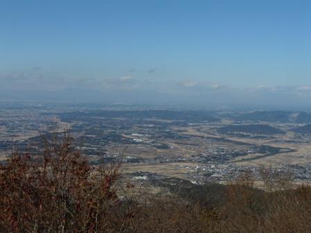 ケーブルカー山頂駅付近の展望台からの眺望 1