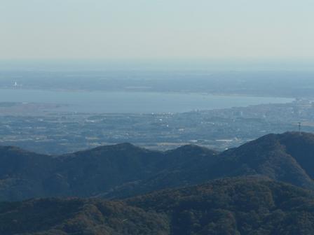 ケーブルカー山頂駅付近の展望台からの眺望 2