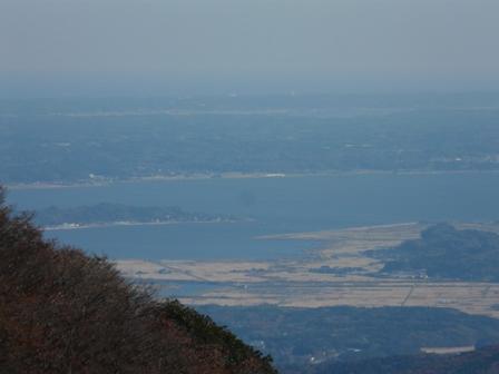 ケーブルカー山頂駅付近の展望台からの眺望 3
