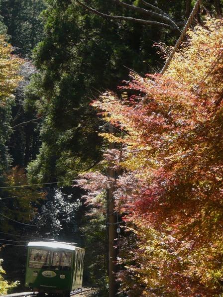 筑波山ケーブルカーから 6