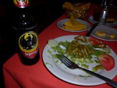 リベリア 夕食