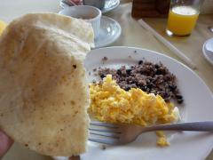 リベリア 朝食