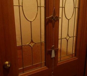 ドアとステンド