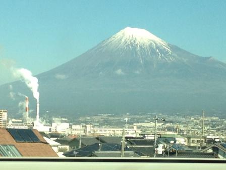 撮った富士山