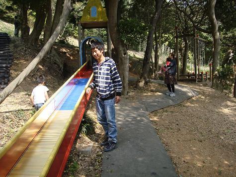 色違い滑り台