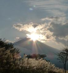 ばんちゃんの旅案内 -日本全国自走の旅--ダイヤモンド富士