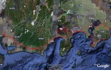 ばんちゃんの旅案内 -日本全国自走の旅--房総~富士走行ルート