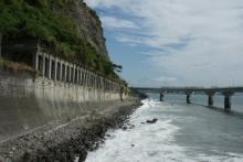 ばんちゃんの旅案内 -日本全国自走の旅--大崩海岸