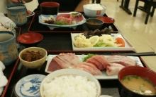ばんちゃんの旅案内 -日本全国自走の旅--焼津刺身定食