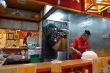 ばんちゃんの旅案内 -日本全国自走の旅--取材中