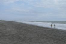 ばんちゃんの旅案内 -日本全国自走の旅--九十九里浜