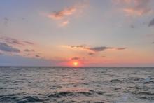 ばんちゃんの旅案内 -日本全国自走の旅--和歌山夕日