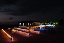 ばんちゃんの旅案内 -日本全国自走の旅--白良浜イルミネーション