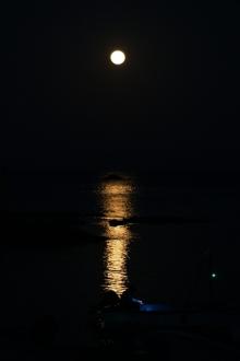 ばんちゃんの旅案内 -日本全国自走の旅--爪木崎満月