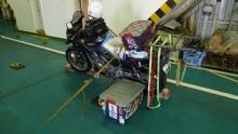 ばんちゃんの旅案内 -日本全国自走の旅--バイク積み込み