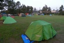 ばんちゃんの旅案内 -日本全国自走の旅--境港公設マリーナキャンプ場