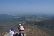 ばんちゃんの旅案内 -日本全国自走の旅--大山登山途中